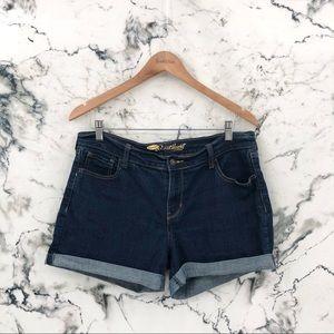 Old Navy The SweetHeart Dark Wash Jean Shorts